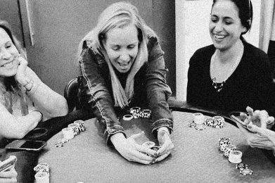 Ladies Playing Poker 2