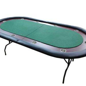 שולחן פוקר מהודר - מתקפל ומתאים ל10 משתתפות.